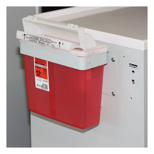 Non-Locking Sharps Container Bracket