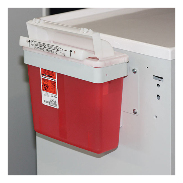 Non-Locking Sharps Container Bracket