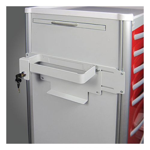 Locking Sharps Container Mounting Bracket