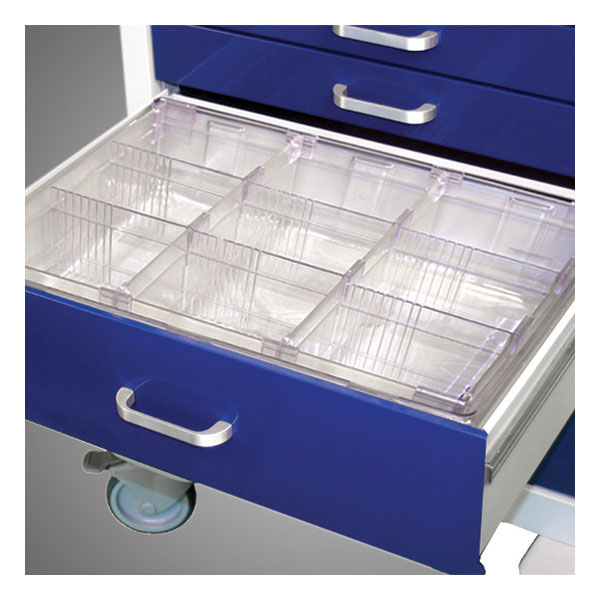 Adjustable Divider System with Large Divider Sections