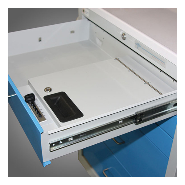 Pushbutton Locking Security Box