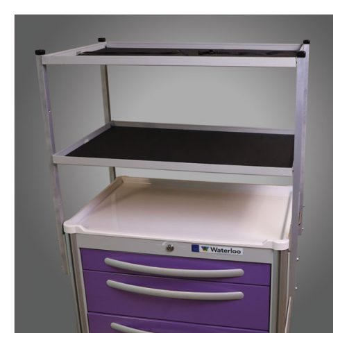 Two-Tier Shelving Unit