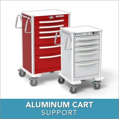 Aluminum Cart Support