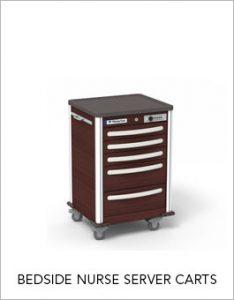 Bedside Nurse Server Carts