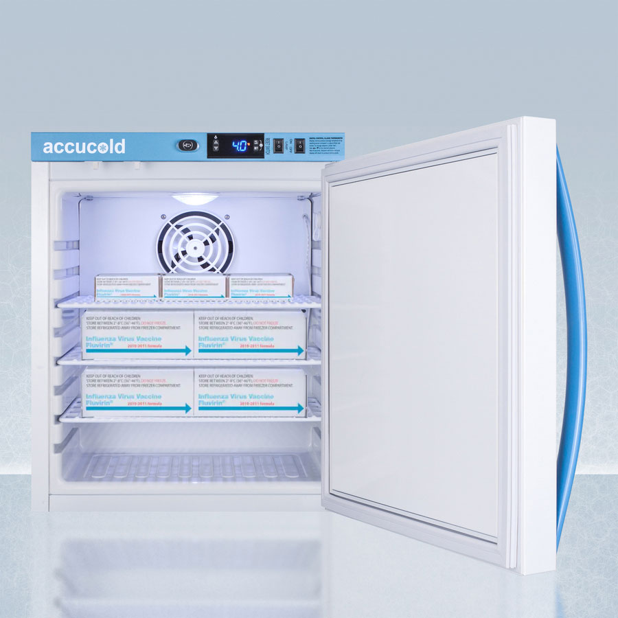 Refrigerator with Vaccines
