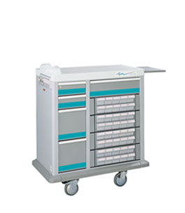 Shop Patient Bin Medication Carts