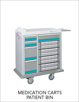 Shop Patient Bin Medication Carts
