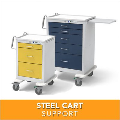 Steel Cart Support